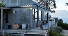 A revamped beach shack on its own private island Australian Holidays, Australian Homes, Model House Plan, Beach Shack, Winter House, Nice View, Country Style, Cottage, Backyard