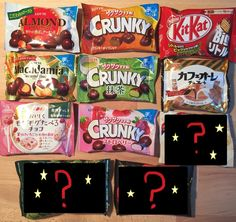 Chocolate Snack Assort Set, 6 or 11 flavors set, Japanese Candy, Snack, Glico #Lotteetc