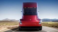 Tesla reveals radical electric truck