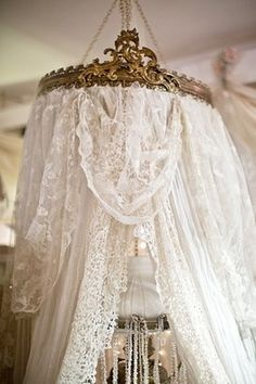 Gilt And Lace Canopy