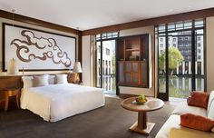 The St. Regis Lhasa Resort—Villa Deluxe - Bedroom with Garden View by St Regis Hotels and Resorts,