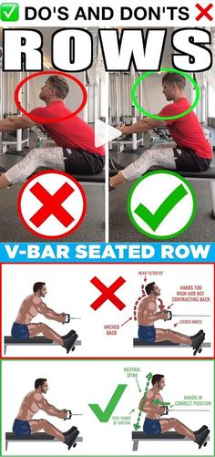 how to v bar seated row Chest Muscles, Back Muscles, Fit Board Workouts, Gym Workouts, Fitness Biology, Gym Plans, Gym Tips, Fitness Inspiration Quotes, Back Exercises