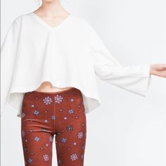 Zara bell shape top Super chic and comfy Zara Tops Blouses