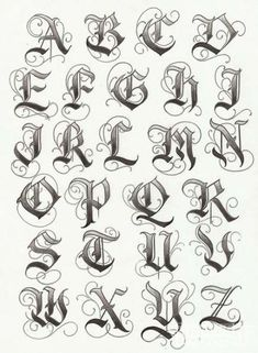 Tatto Ideas 2017 – lettering typographie calligraphie gothique majuscules… Tatto Ideas & Trends 2017 – DISCOVER lettering typography uppercase gothic calligraphy Discovred by: Constance Dvllr 2017 Lettering, Tattoo Lettering Fonts, Lettering Design, Hand Lettering, Gothic Lettering, Graffiti Lettering Fonts, Fonts For Tattoos, Chicano Tattoos Lettering, 2017 Typography