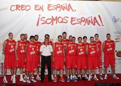 Presentada la selección española de baloncesto que irá al Mundial | Navarra Sport - El diario líder en información y noticias sobre Osasuna y el deporte navarro.
