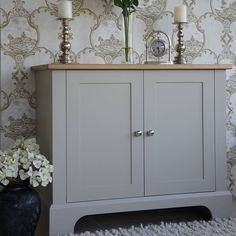 pilsley cupboard available in bespoke sizes by chatsworth cabinets | notonthehighstreet.com  - for hallway