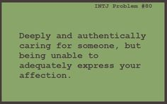 INTJ problems. Sometimes it bothers me not at all but other times it's the most frustrating thing ever.