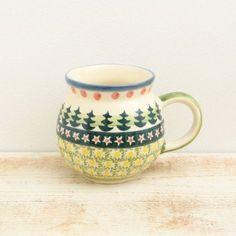 ポーランド 陶器 ポーリッシュポタリー ウィザ社 マグカップ 144
