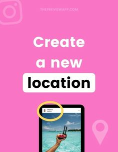 """""""Can I create my own custom location tag for Instagram?"""" Yes you can! Follow these four easy steps to create your own custom location for anything you'd like. Then, tag your custom location when scheduling your posts with Preview! #instagramtips #instagramstrategy #instagrammarketing #socialmedia #socialmediatips Instagram Bio, Instagram Accounts, Instagram Marketing Tips, Gain Followers, Business Look, Photography Tutorials, Social Media Tips, Create Your Own, Photo Editing"""