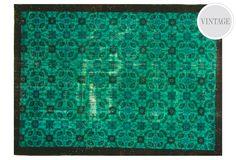 Vintage Teal rug...yum. $3000 #rug