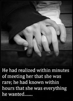 You are everything I have ever wanted and could have possibly dreamed of...I Knew within seconds!, #