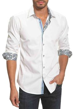 Jared Lang Arturo Shirt In White