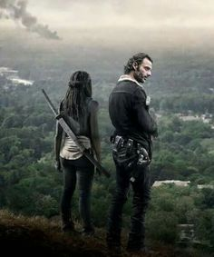 OMG. This is absolutely the most amazing TWD picture! <3 Richonne <3 - Walking Dead - Promo 2016