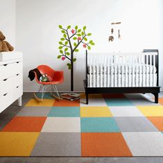 Chet Pourciau Design: Flor Carpet Tiles and Pantone Color of The Year