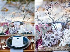 Shipwrecked, beach coastal wedding inspiration via Coastal Bride