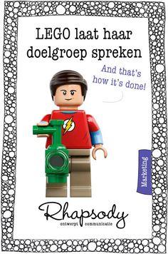 LEGO komt met een Big Bang Theory set. Hoe kwamen ze erbij om deze sitcom als inspiratie te gebruiken? Blog over LEGO's doelgroeponderzoek.