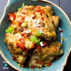 With a little bit of help with your good mate you can create syn free salt and pepper chicken deeeeeeeelish Link is in the bio Salt And Pepper Pork Recipe, Salt And Pepper Chips, Salt And Pepper Chicken, Pork Recipes, Chicken Recipes, Cooking Recipes, Healthy Recipes, Recipies, Meal Recipes