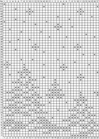 "Вязание. Варежки с жаккардом - ""Зимняя радуга"" Fair Isle Knitting Patterns, Knitting Machine Patterns, Crochet Dolls Free Patterns, Knitting Charts, Thread Crochet, Crochet Stitches, Crochet Doilies, Filet Crochet Charts, Crochet Curtains"