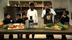 Juicing With Kids