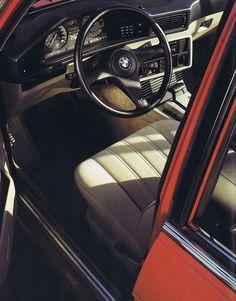 1985 BMW E28 Interior