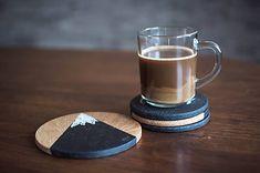 Drevená podšálka - menšia / StolarstvoKonrad - SAShE.sk - Handmade Pomôcky Minimal Design, Barware, Sweet Home, Kitchen, Handmade, Stuff To Buy, Minimalist Design, Cooking, Hand Made
