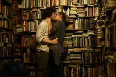 Book Lover's Romance by Nadja Pausch.Capitol Books in Washington DC. - …Book Lover's Romance by Nadja Pausch…Capitol Books in Washington DC. November books can have that effect… Writing Inspiration, Character Inspiration, Meeting Of The Minds, Lovers Romance, Couple Aesthetic, Book Aesthetic, Romantic Moments, Hopeless Romantic, Love Book