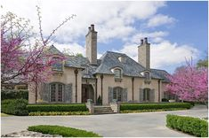 French Country curb appeal