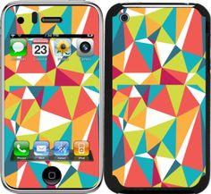 iPhone 3 / 3GS için Ozi Çizgiler Kapak