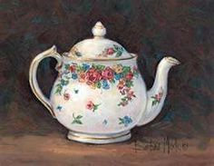 Barbara Mock - Mixed Blossom Teapot