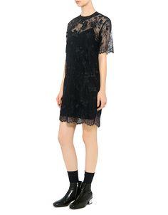 Carven Floral Lace Dress