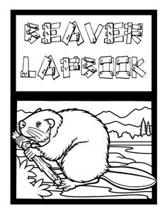 Beaver Unit Study and Lapbook Preschool Printables, Preschool Activities, Chronicles Of Narnia Books, Animals That Hibernate, Beaver Scouts, Pond Life, Daycare Crafts, Bible Crafts, Kids Education