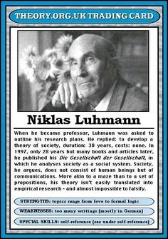 Niklas Luhmann (1927