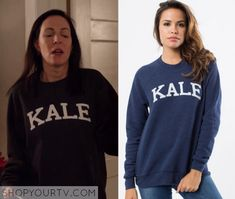 Odd Mom Out: Season 1 Episode 8 Jill's Kale Printed Sweater