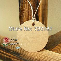 Wholesale Cardboard Blank price Hang tag Retro Gift Hang tag 500pcs/lot Free Shipping $19.00