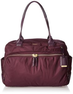 Amazon.com | Tumi Voyageur Athens Carry All, Aubergine, One Size | Travel Totes