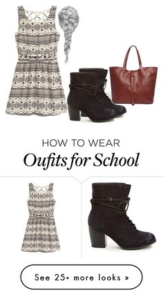 """""""School"""" by rebeccawilson-480 on Polyvore featuring Madewell"""