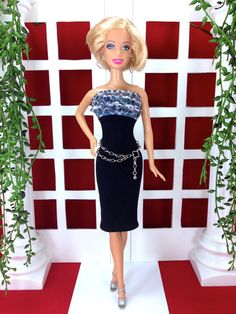 Barbie Doll Clothes  Barbie Doll Dress with by EnchantedStyles