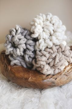 Image of Big Loops Alpaca mini blankets   http://www.lovethatprop.bigcartel.com/