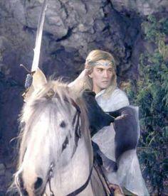 Glorfindel and Asfaloth...