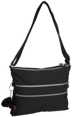 Kipling Women's Alvar Shoulder Bag K13335900 Black: Amazon.co.uk: Shoes & Bags