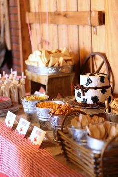 Boy Baby Shower Themes You Won't Want To Pass Up – Southern Dakota Mama – Baby Shower İdeas 2020 Cow Baby Showers, Cowgirl Baby Showers, Cowboy Baby Shower, Boy Baby Shower Themes, Baby Boy Shower, Country Baby Showers, Cowboy First Birthday, Baby Birthday, Birthday Ideas