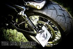 Sportster Harley Sienne Designed by Vida Loca Choppers in 2013