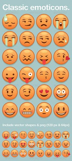 Classic Yellow Emoticon — Photoshop PSD #vector #cry • Available here → https://graphicriver.net/item/classic-yellow-emoticon/3253905?ref=pxcr
