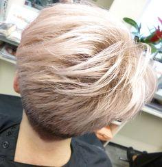 Metallic Rose  Hair