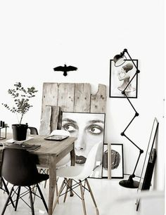 |  Home Decorations: Wall art and floor lamps - read the entire article at http://modernfloorlamps.net/use-mid-century-modern-floor-lamps-sideboard/