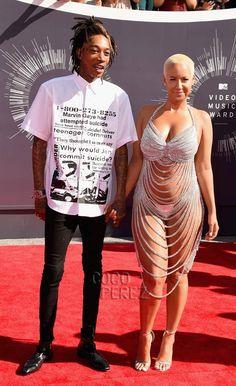 Amber Rose, Mtv Video Music Award, Music Awards, Kim Kardashian And Kanye, Mtv Videos, Old Models, Celebrity Dresses, Celebrity Couples, Legs