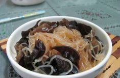 The Super Cold Agaric Vermicelli Healthy Chinese Recipes, Cold Dishes, Chili Oil, Chinese Food, Food Print, Cabbage, Vegetables, Kitchens, Cold Side Dishes
