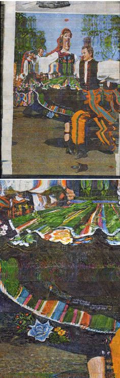 "Glitch Art Goes Acrylic in Alejandro Bombín's ""Screen Paintings"" | The Creators Project"