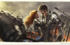 Shallan and Adolin - almost