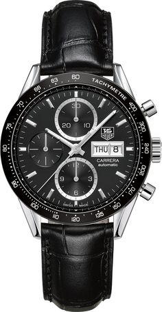 TAG Heuer Watch Carrera Day Date Calibre 16 http://bit.ly/20MN2oE #bezel-fixed #bracelet-strap-alligator #brand-tag-heuer #case-material-steel #case-width-41mm #chronograph-yes #date-yes #day-yes #delivery-timescale-call-us #dial-colour-black #gender-mens #luxury #movement-automatic #official-stockist-for-tag-heuer-watches #packaging-tag-heuer-watch-packaging #style-sports #subcat-carrera #supplier-model-no-cv201ag-fc6266 #warranty-tag-heuer-official-2-year-guarantee #water-resistant-100m